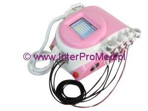 E-Light (IPL + RF) + RF + Vacuum + Ultradźwięki kawitacyjne