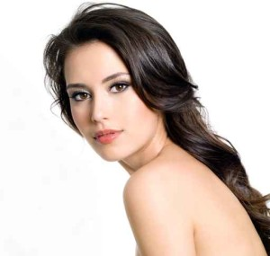 Beautiful young pretty woman